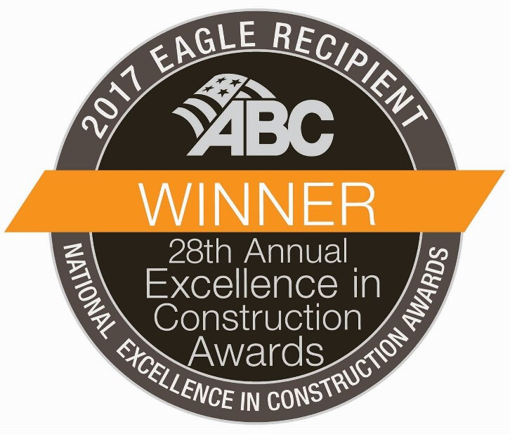 2017 Associated Builders and Contractors (ABC) Excellence in Construction Eagle Award
