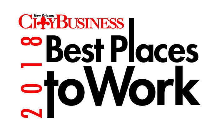 New Orleans CityBusiness Best Places to Work 2018