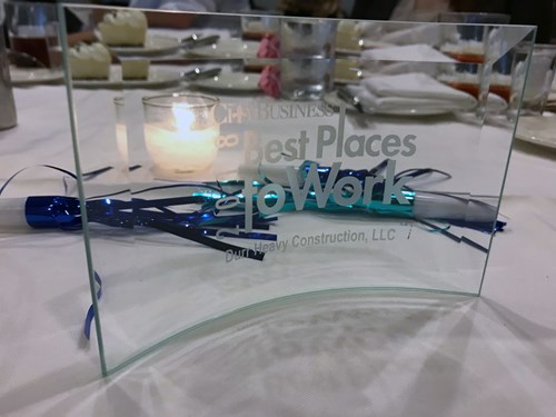 New Orleans CityBusiness Award for Best Places to Work