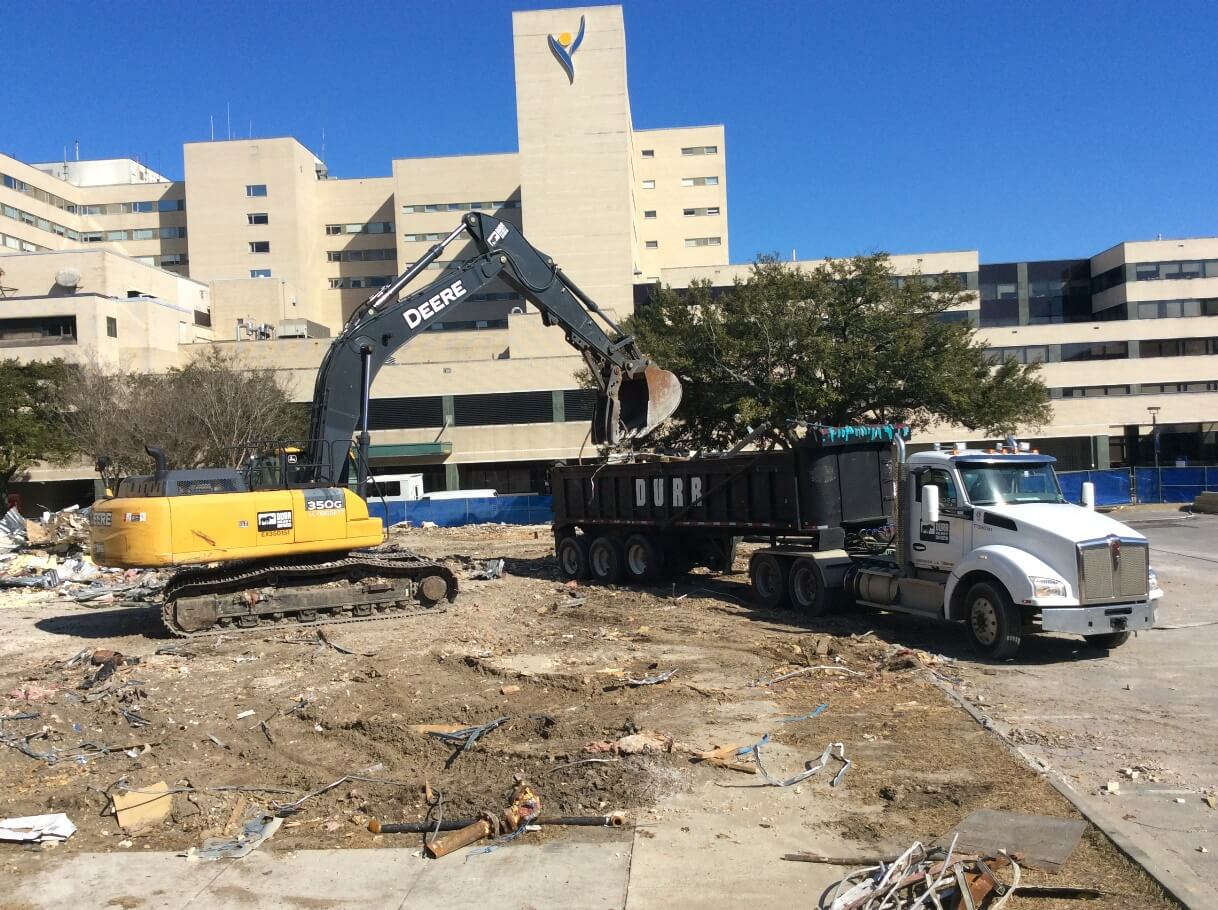 Construction project for Ochsner Health System